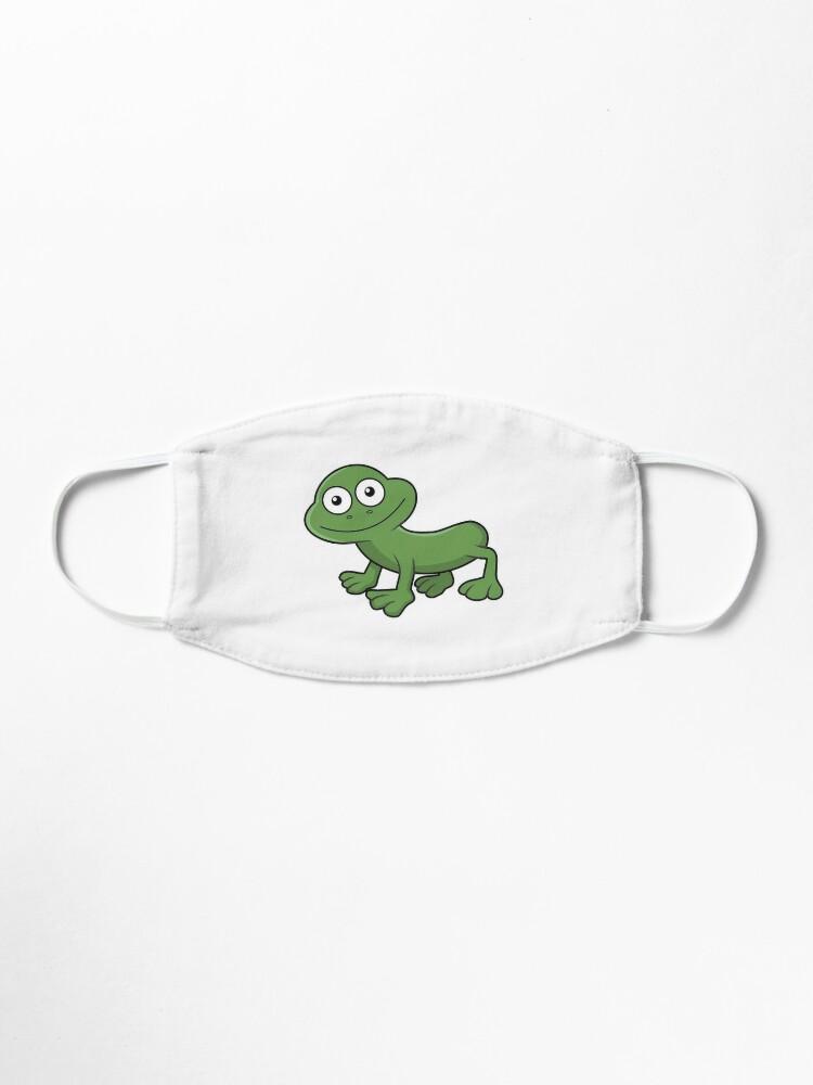 Alternate view of Sausage Frog Mask