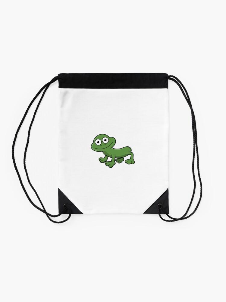 Alternate view of Sausage Frog Drawstring Bag