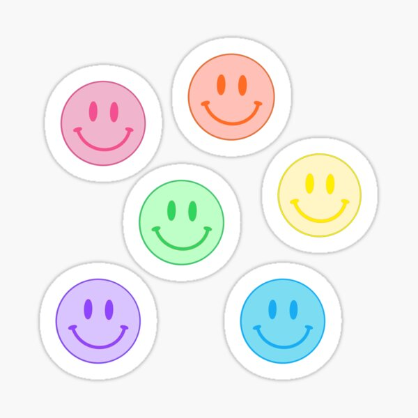 Pack de visage souriant Sticker