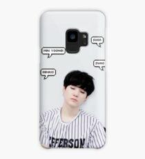 BTS Suga Case/Skin for Samsung Galaxy