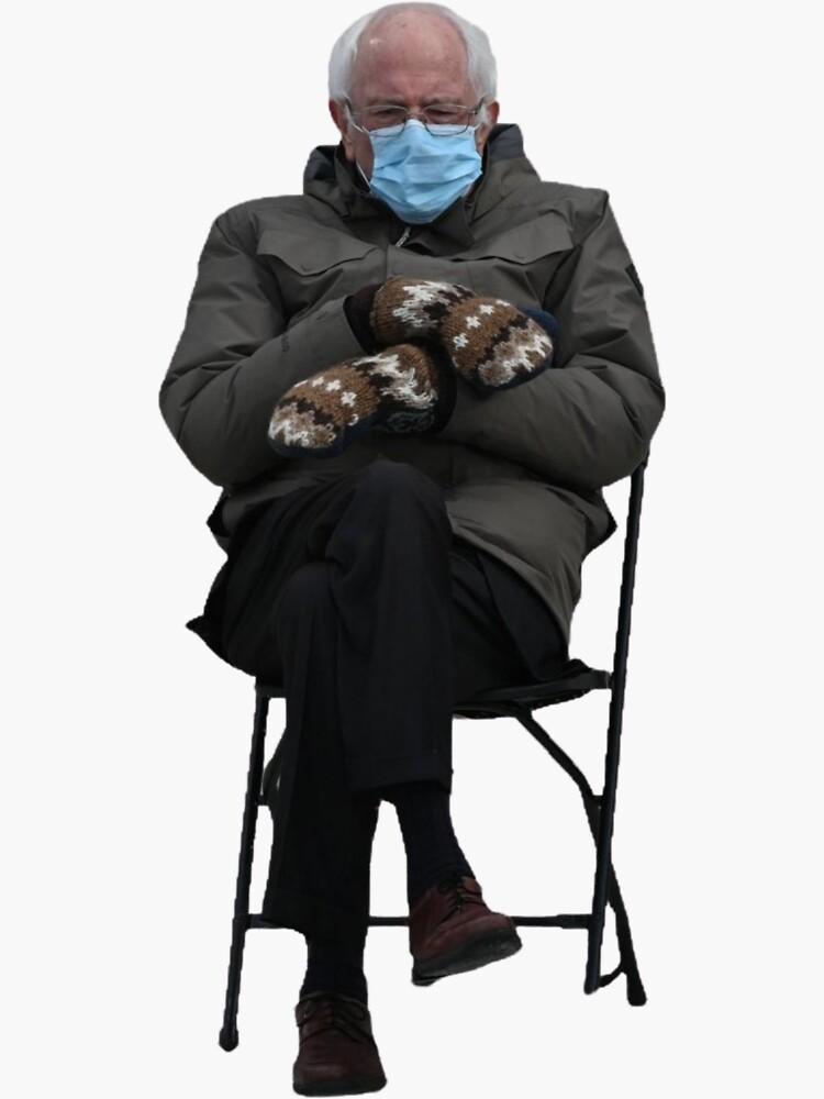 Bernie Sanders Sitting by cityinbloom