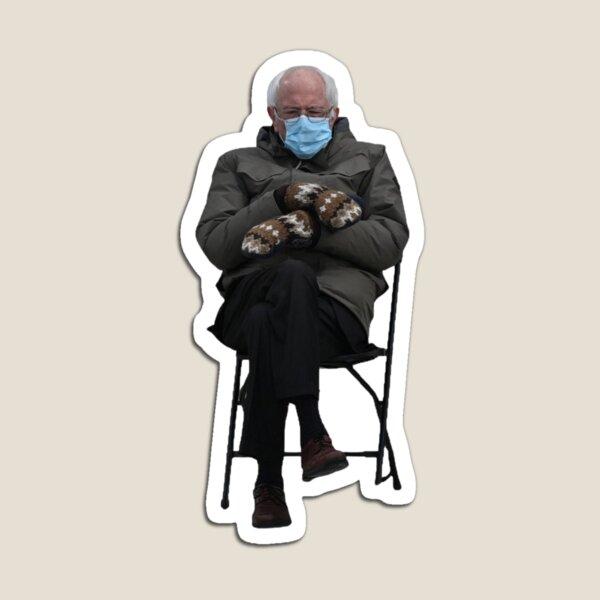 Bernie Sanders Sitting Magnet
