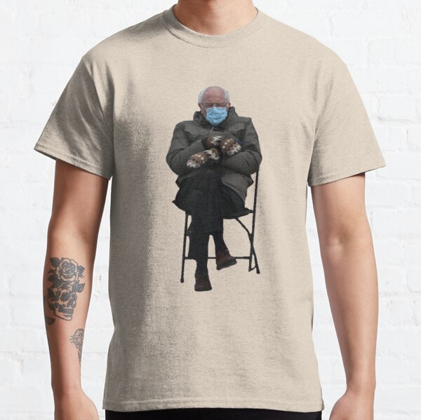 Bernie Sanders Sitting Classic T-Shirt