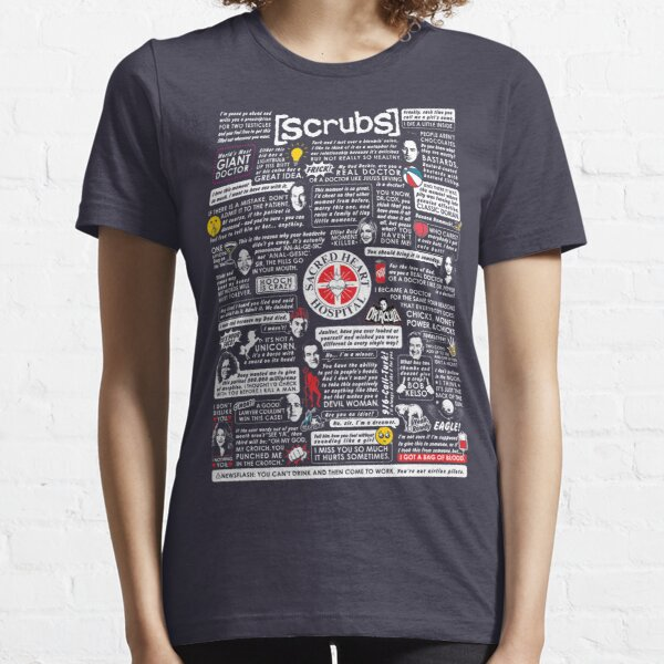 Paroles sages de Scrubs T-shirt essentiel