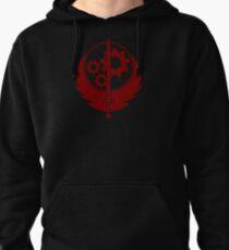 Brotherhood of Steel Emblem (Red) Pullover Hoodie