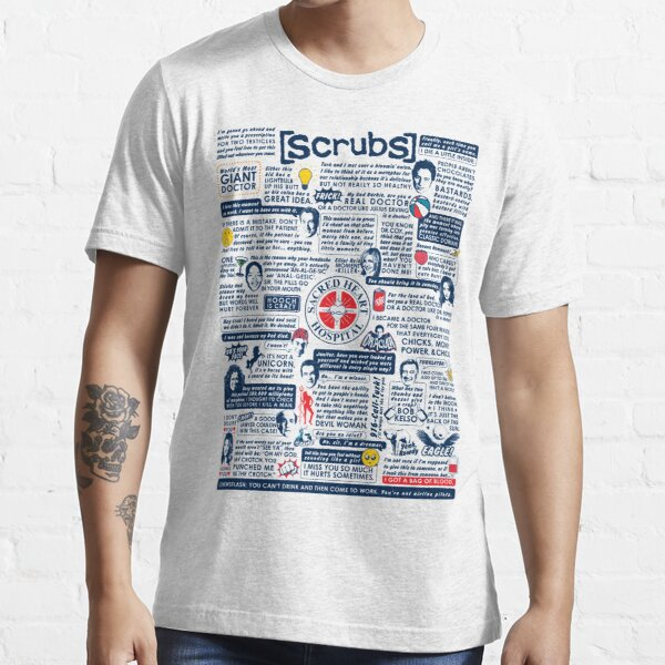 Wise Words of Scrubs (Variant) Essential T-Shirt