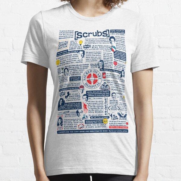 Weise Worte von Peelings (Variante) Essential T-Shirt
