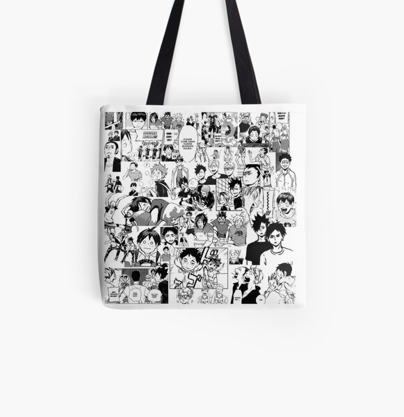Haikyuu !! - Manga Collage Tote bag doublé