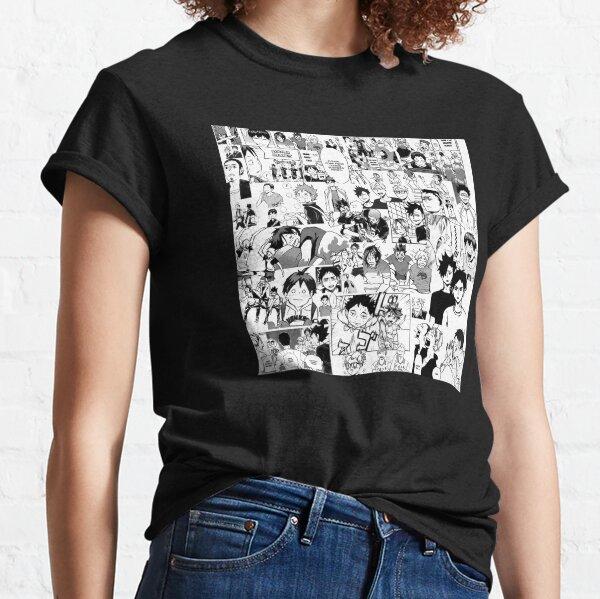 Haikyuu!! - Manga Collage Classic T-Shirt