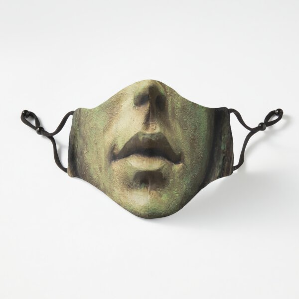 Haunted Kingdom Tombstone Madame Mouth Face Mask Fitted 3-Layer