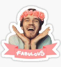 Pewdiepie - Fabulous! Sticker