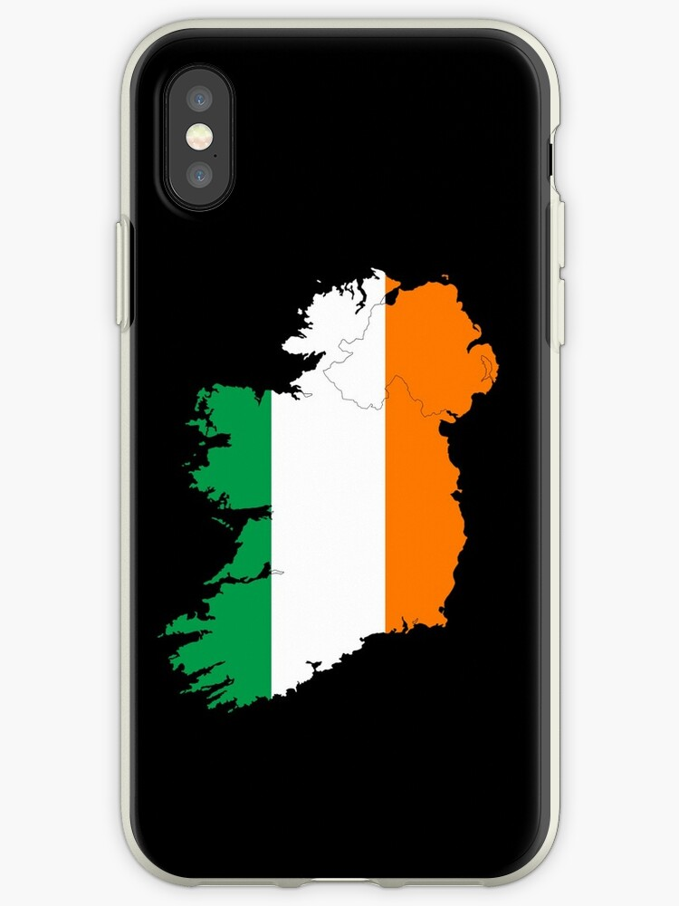 huge discount 3757c c75bb 'Ireland Flag Country Stickers' iPhone Case by ImageMonkey