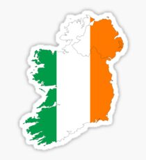 Ireland Flag Country Stickers Sticker