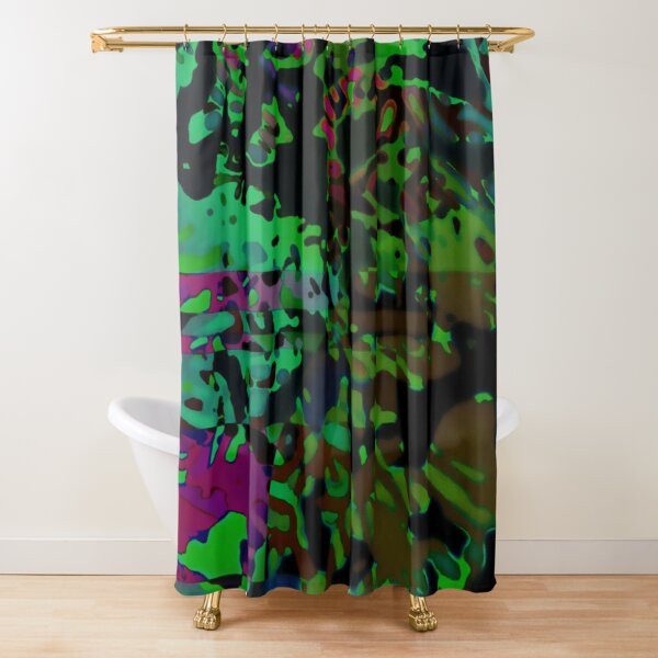 DELIRIUM Shower Curtain