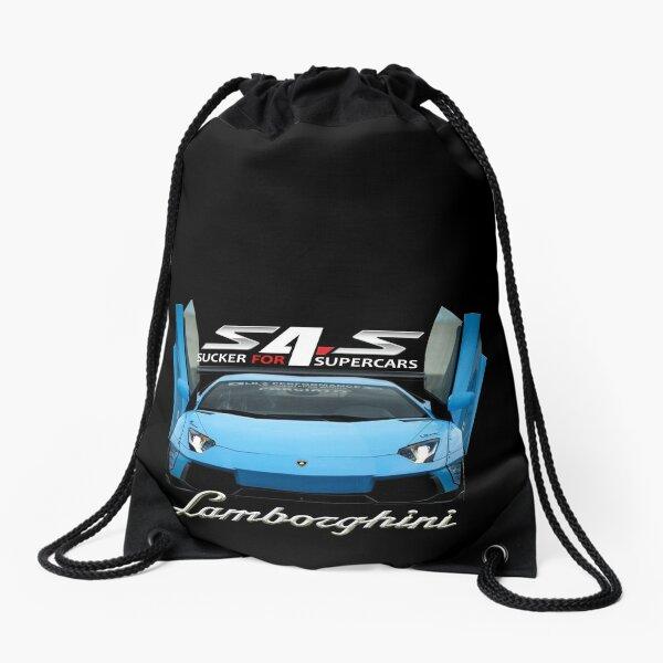 Lamborghini Aventador Supercar Products Drawstring Bag