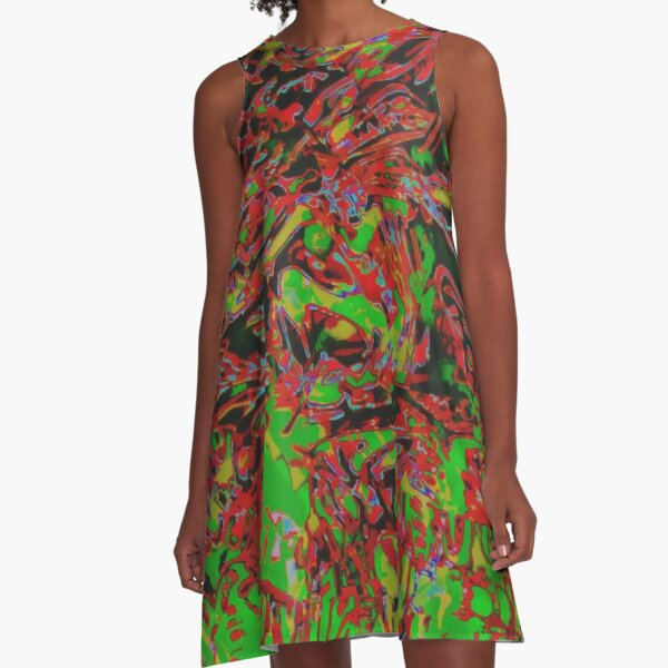REFRACTION A-Line Dress
