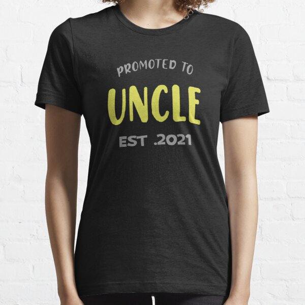 Promoted To Uncle Est 2021 Essential T-Shirt