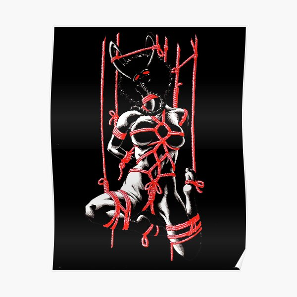 Suspended in Ecstacy black Poster