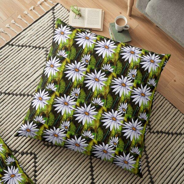 Daisy Delight Floor Pillow