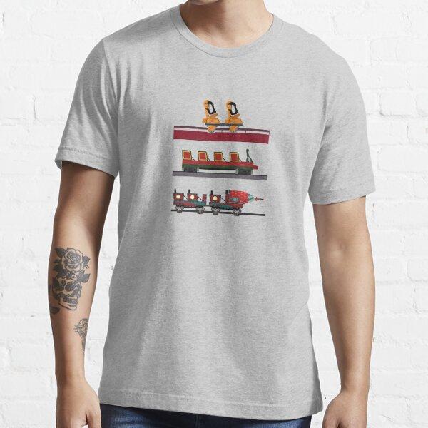 Tivoli Gardens Coaster Cars Essential T-Shirt