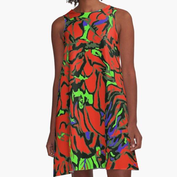 AMNESIA A-Line Dress