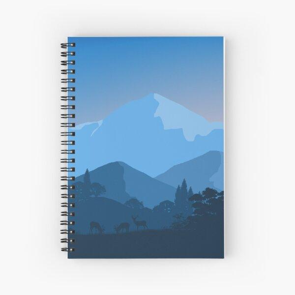 minimalism Spiral Notebook