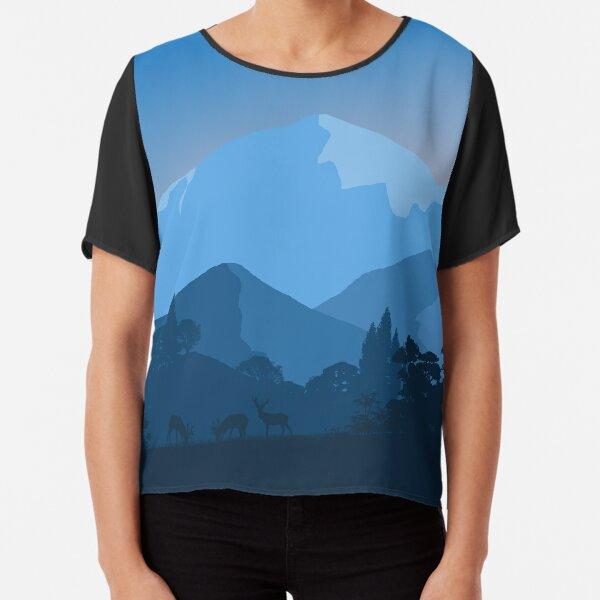 minimalism Chiffon Top