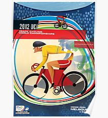 Track Cycling Weltmeisterschaft Poster Poster