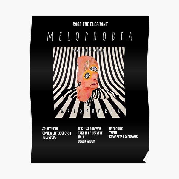 Affiche de la mélophobie - Cage The Elephant Poster