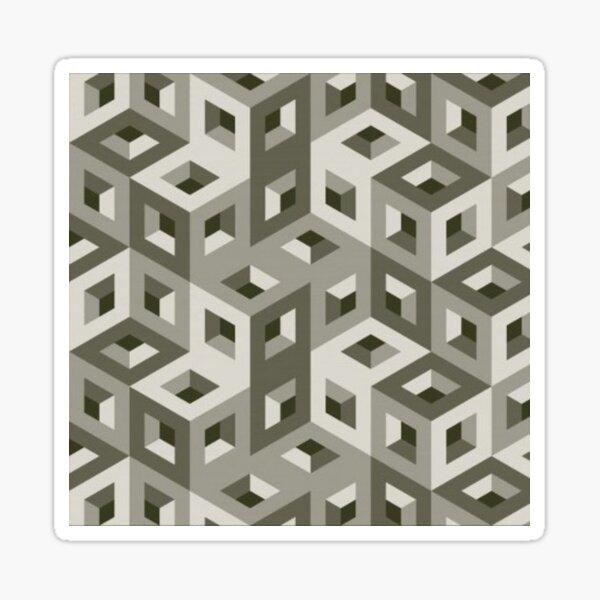 Trippy Art Pattern Sticker