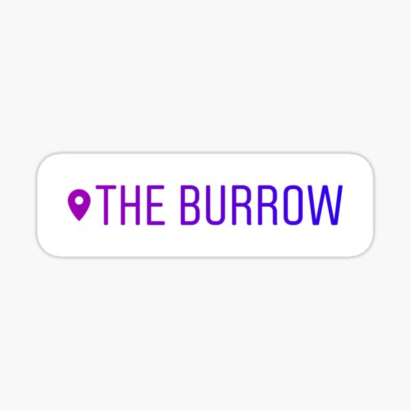 The Burrow Sticker