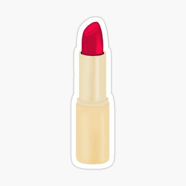 Red Lipstick  Sticker