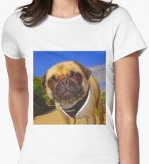 Puggy Women's Fitted T-Shirt