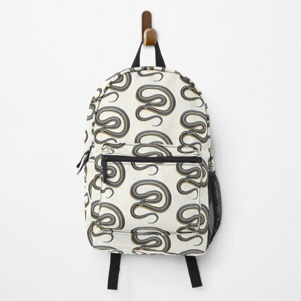 Garter Snake painting (no background) Backpack
