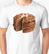 Chocolate Cake Pattern Unisex T-Shirt
