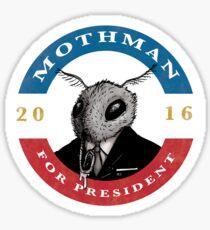 2016 Mothman Campaign Memorabilia Sticker