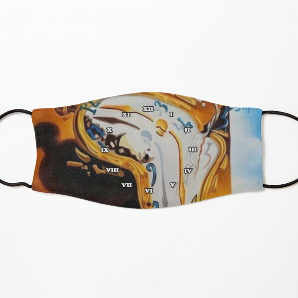 Salvador Dali Paintings Watches Kids Mask