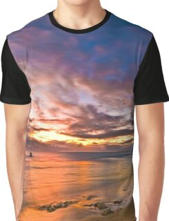 Sunset at Cottesloe 2 Graphic T-Shirt