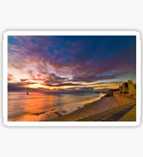 Sunset at Cottesloe 2 Sticker
