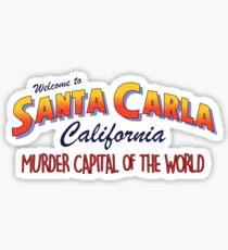 Pegatina The Lost Boys - Bienvenido a Santa Carla