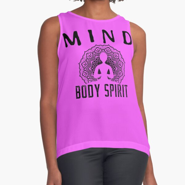 Health Coach Mind body and spirit Sleeveless Top