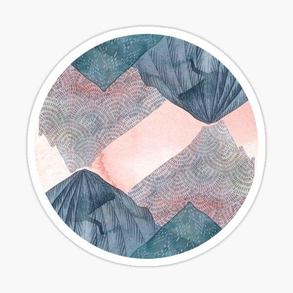 Oér The Wild Mountains  Sticker