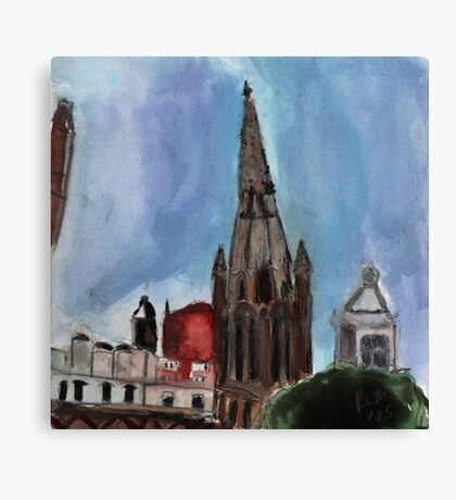 Here Is The Steeple.. Canvas Print