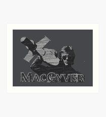 MacGyver Tee Art Print