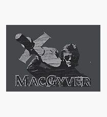 MacGyver Tee Photographic Print
