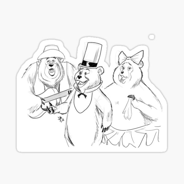 #bearsquad Sticker