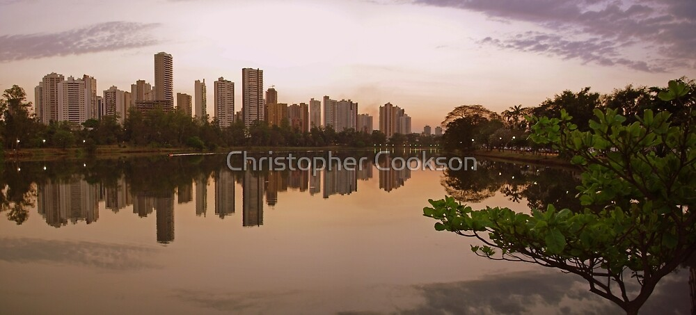 Londrina Sunset by Christopher Cookson