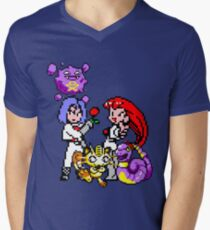 Team Rocket Men's V-Neck T-Shirt