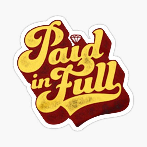 dustin poirier paid in full sticker Sticker
