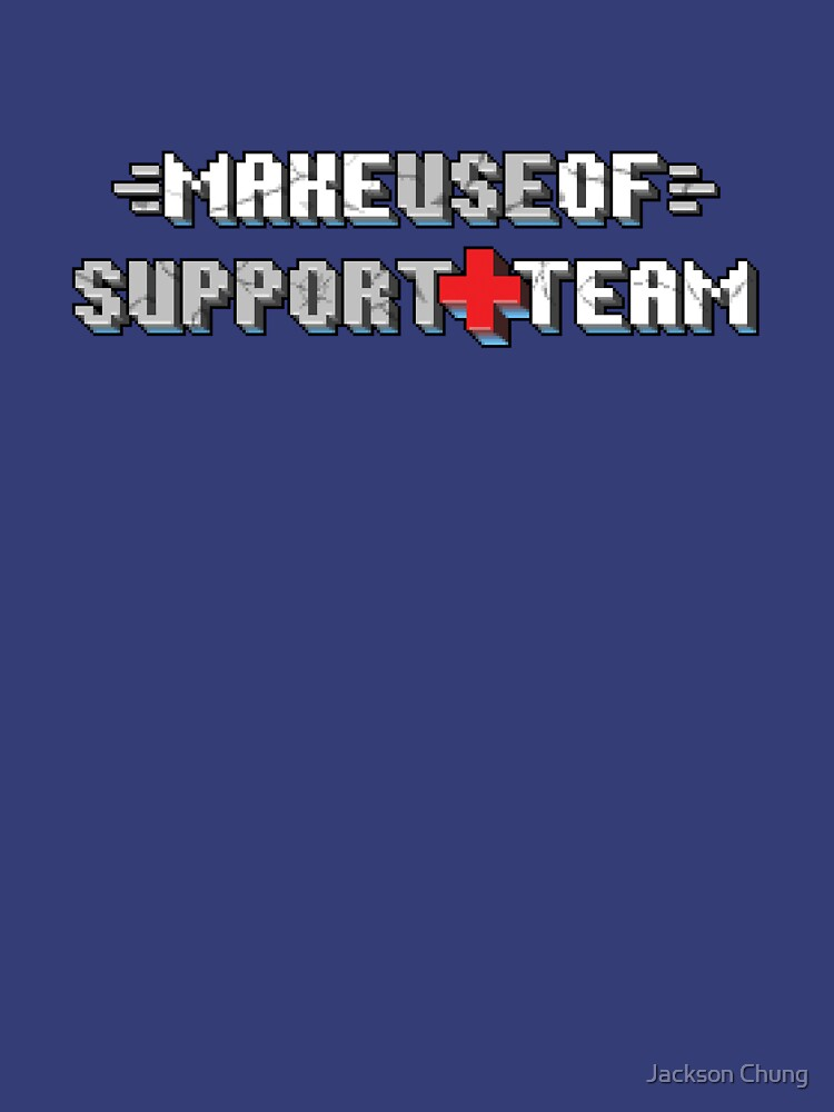 MakeUseOf Support Team | Unisex T-Shirt